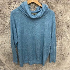 LOFT Lou & Grey Cowl neck Sweatshirt